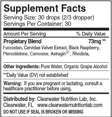 Clearwater Nutrition Lab - Stem Cell Activator